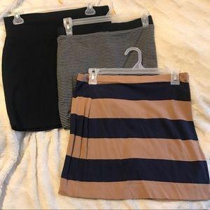mini skirts 3 bundle